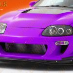 LIP4 Supra ridox front bumper splitter lip copy