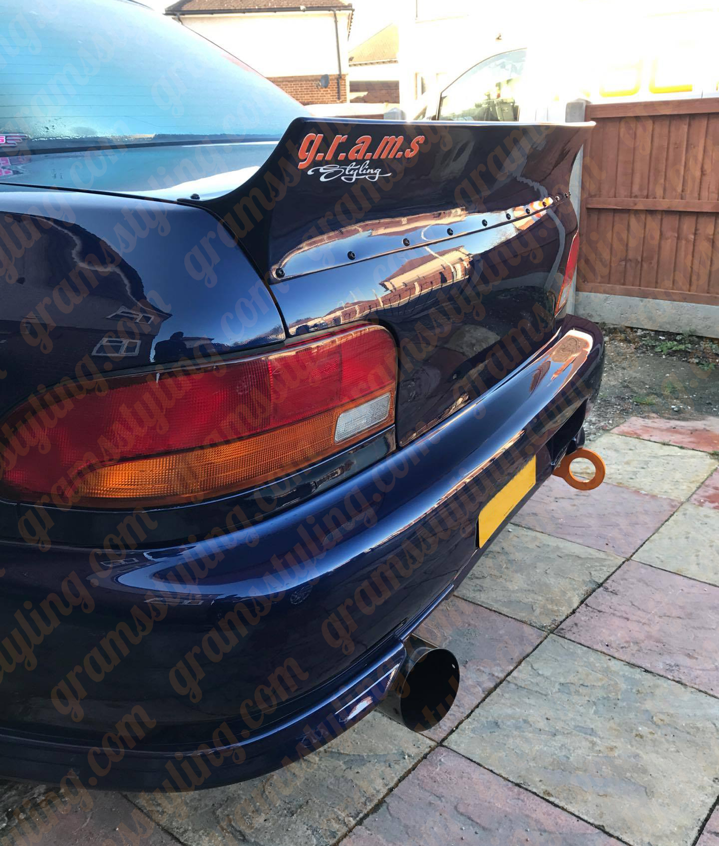 SP5 impreza gc8 ducktail6